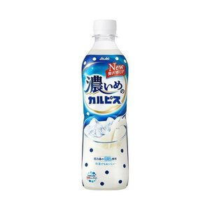 【送料無料】【2ケースセット】カルピス 濃いめのカルピス【手売り用】 490mlペットボトル×24本入×(2ケース)|nozomi-market