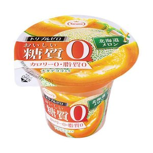 【送料無料】【2ケースセット】たらみ トリプルゼロ おいしい糖質0 北海道メロン 195g×18(6×3)個入×(2ケース)|nozomi-market