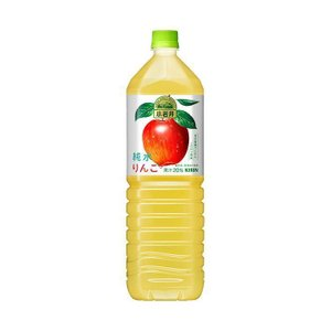 【送料無料】【2ケースセット】キリン 小岩井 純水りんご 1.5Lペットボトル×8本入×(2ケース)|nozomi-market