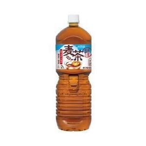送料無料 コカコーラ 茶流彩彩 麦茶 2Lペットボトル×6本入|nozomi-market