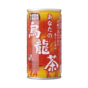【送料無料】【2ケースセット】サンガリア あなたの烏龍茶 190g缶×30本入×(2ケース) nozomi-market