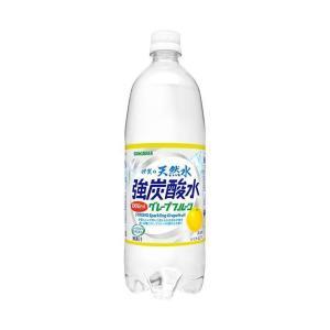 【送料無料】サンガリア 伊賀の天然水 強炭酸水 グレープフルーツ 1Lペットボトル×12本入|nozomi-market