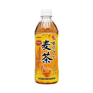 【送料無料】サンガリア すばらしい麦茶 500mlペットボトル×24本入 nozomi-market