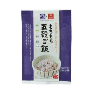 【送料無料】はくばく 大戸屋 もちもち五穀ごはん 180g(30g×6)×6袋入|nozomi-market