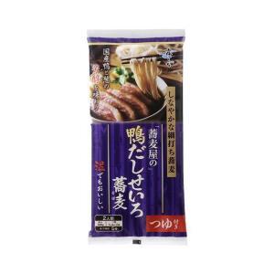 【送料無料】はくばく 蕎麦屋の鴨だしせいろ蕎麦 250g×10袋入 nozomi-market