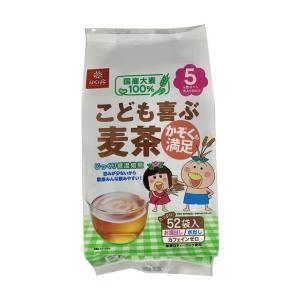 【送料無料】はくばく こども喜ぶ麦茶 416g(8gx52袋)×12袋入|nozomi-market