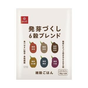 送料無料 はくばく 発芽づくし6穀ブレンド 180g(30g×6袋)×10袋入|nozomi-market