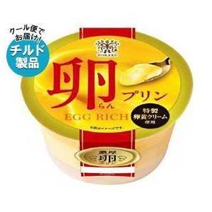 送料無料 【チルド(冷蔵)商品】トーラク 卵(らん)プリン 85g×6個入|nozomi-market