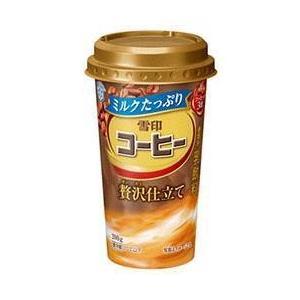 【送料無料】【2ケースセット】【チルド(冷蔵)商品】雪印メグミルク 雪印コーヒー 贅沢仕立て 200g×12本入×(2ケース)|nozomi-market