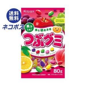 【全国送料無料】【ネコポス】春日井製菓 つぶグミ 85g×6袋入|nozomi-market