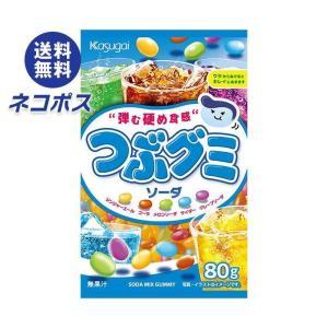 【全国送料無料】【ネコポス】春日井製菓 つぶグミ ソーダ 85g×6袋入|nozomi-market