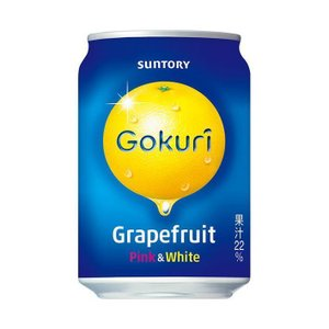 送料無料 【2ケースセット】サントリー Gokuri(ゴクリ) グレープフルーツ 290g缶×24本入×(2ケース)|nozomi-market