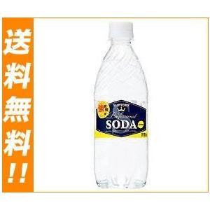 【送料無料】サントリー ソーダレモン 490mlペットボトル×24本入|nozomi-market