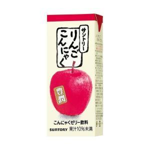送料無料 【2ケースセット】サントリー りんごこんにゃく 250ml紙パック×24本入×(2ケース)|nozomi-market