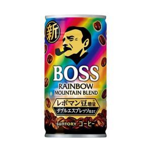 送料無料 サントリー BOSS(ボス) レインボーマウンテンブレンド 185g缶×30本入|nozomi-market