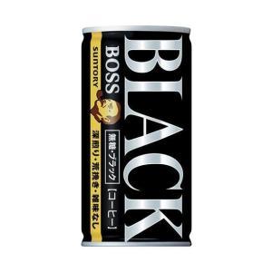 【送料無料】【2ケースセット】サントリー BOSS(ボス) 無糖ブラック 185g缶×30本入×(2ケース)|nozomi-market