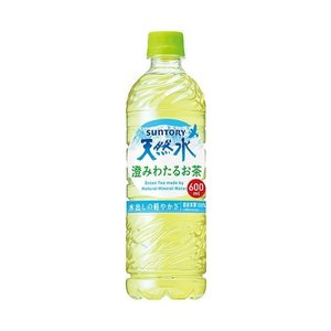 送料無料 【2ケースセット】サントリー 天然水 GREEN TEA(グリーンティー) 600mlペットボトル×24本入×(2ケース)|nozomi-market