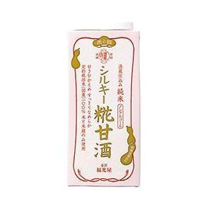送料無料 福光屋 酒蔵仕込み 純米 シルキー糀甘酒 1000ml紙パック×6本入|nozomi-market