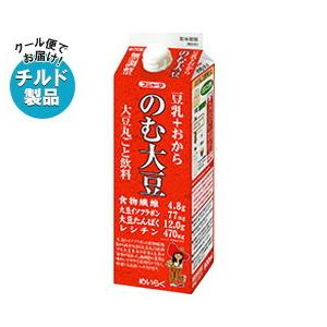 送料無料 【チルド(冷蔵)商品】スジャータ 豆乳+おから のむ大豆 900ml紙パック×6本入|nozomi-market