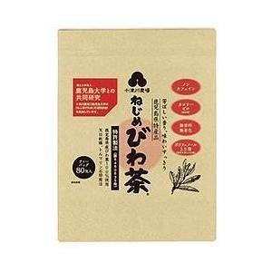 【送料無料】十津川農場 ねじめびわ茶80 (2gティーバッグ 80包入) 80P×1袋入|nozomi-market
