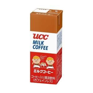 送料無料 UCC ミルクコーヒー 200ml紙パック×24本入|nozomi-market