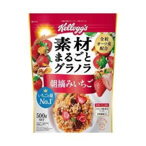 送料無料 ケロッグ フルーツグラノラ 朝摘みいちご 600g×6袋入|nozomi-market