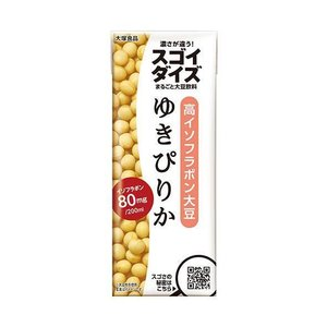 送料無料 大塚食品 スゴイダイズ ゆきぴりか 200ml紙パック×24本入|nozomi-market