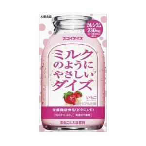 送料無料 大塚食品 ミルクのようにやさしいダイズ いちご 950ml紙パック×6本入|nozomi-market
