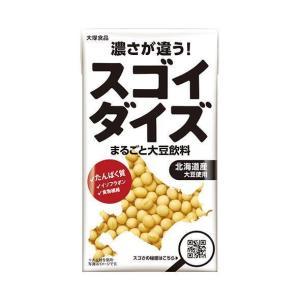 送料無料 大塚食品 スゴイダイズ無調整タイプ 950ml紙パック×6本入|nozomi-market