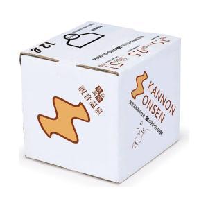 送料無料 滝野川自動車 飲む温泉 観音温泉 12L×1箱入 nozomi-market