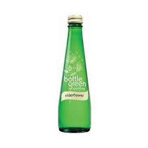 【送料無料】シープロ ボトルグリーン エルダーフラワー 275ml瓶×12本入|nozomi-market