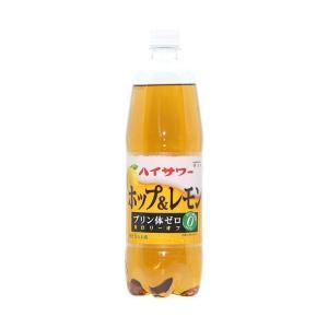 【送料無料】博水社 ハイサワー ホップ&レモン 1000mlペットボトル×6本入|nozomi-market