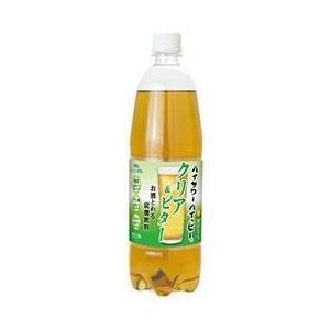【送料無料】博水社 ハイサワーハイッピー クリア&ビター 1000mlペットボトル×6本入|nozomi-market
