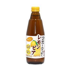 【送料無料】博水社 ハイサワーハイッピー レモンビアテイスト 350ml瓶×12本入|nozomi-market
