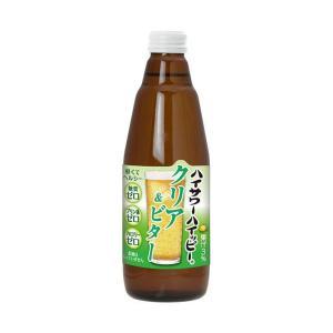 【送料無料】博水社 ハイサワーハイッピー クリア&ビター 350ml瓶×12本入|nozomi-market