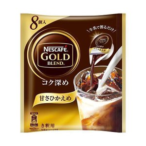 送料無料 【2ケースセット】ネスレ日本 ネスカフェ ゴールドブレンド コク深め ポーション 甘さひかえめ (11g×8P)×24袋入×(2ケース) nozomi-market