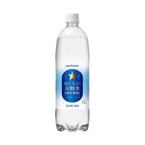 【送料無料】ポッカサッポロ おいしい炭酸水 1Lペットボトル×12本入|nozomi-market