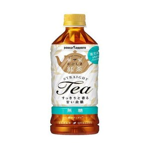 送料無料 【2ケースセット】ポッカサッポロ かごしま知覧紅茶 無糖 500mlペットボトル×24本入×(2ケース)|nozomi-market