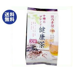 【送料無料】山城物産 国産素材 十種のブレンド健康茶 8g×30P×20袋入|nozomi-market