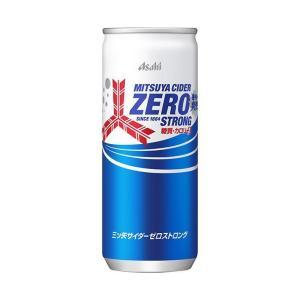 【送料無料】【2ケースセット】アサヒ飲料 三ツ矢サイダー ゼロストロング 250ml缶×20本入×(2ケース)