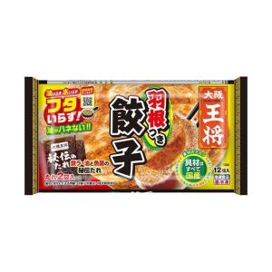 送料無料 【冷凍商品】イートアンド 大阪王将 羽根つき餃子 12個×20袋入|nozomi-market