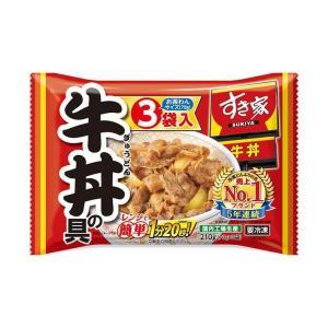 送料無料 【冷凍商品】トロナ すき家 牛丼の具 210g(70g×3袋)×10袋入|nozomi-market