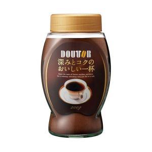 送料無料 ドトールコーヒー 深みとコクのおいしい一杯 200g瓶×12本入|nozomi-market