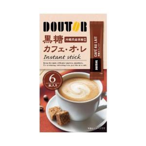 送料無料 ドトールコーヒー ドトール 黒糖カフェ・オ・レ 13g×6P×36箱入|nozomi-market