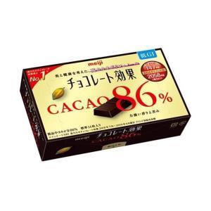 送料無料 【2ケースセット】明治 チョコレート効果カカオ86%BOX 70g×5箱入×(2ケース)