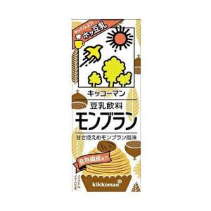 送料無料 キッコーマン 豆乳飲料 モンブラン 200ml紙パック×18本入|nozomi-market