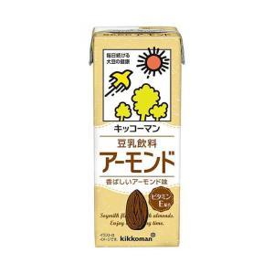 送料無料 【2ケースセット】キッコーマン 豆乳飲料 アーモンド 200ml紙パック×18本入×(2ケ...