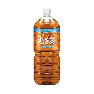 【送料無料】伊藤園 健康ミネラルむぎ茶 2Lペットボトル×6本入