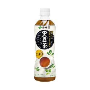 送料無料 伊藤園 からだにいいこと黒豆茶 500mlペットボトル×24本入|nozomi-market