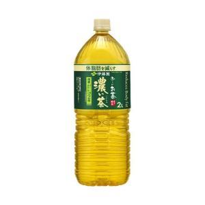送料無料 【2ケースセット】伊藤園 お〜いお茶 濃い茶 2Lペットボトル×6本入×(2ケース)|nozomi-market